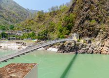 Bridge over Ganga Royalty Free Stock Images