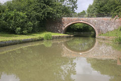Bridge over the Grand Union canal Royalty Free Stock Image