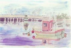 Bridge over the Guadalquivir Stock Photo