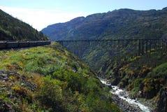 Bridge over 'The Gulch' Stock Photos