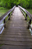 Bridge over Hungry Mother Lake, Marion, Virginia, USA Stock Photography