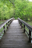 Bridge over Hungry Mother Lake, Marion, Virginia, USA Royalty Free Stock Photo
