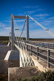 The bridge over Icelandic river Jokulsa a Fjollum Stock Images