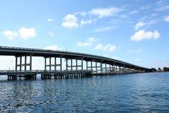 Bridge Over Intercoastal Royalty Free Stock Photo