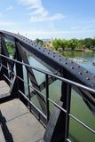 Bridge over the Kwai River, Kanchanaburi, Thailand Stock Image