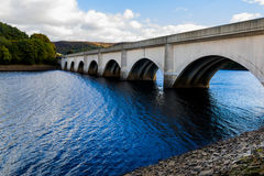 Bridge over Ladybower. Dam Derbyshire England Stock Image