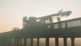 Bridge Over Load Royalty Free Stock Photo