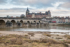 The bridge over the Loire at Gien Royalty Free Stock Photo