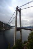 Bridge over Lysefjord Royalty Free Stock Image