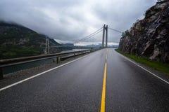 Bridge over Lysefjord Royalty Free Stock Photos