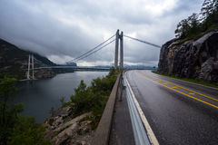 Bridge over Lysefjord Royalty Free Stock Photography