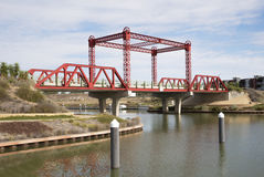 Bridge Over Murray River. Stock Photography