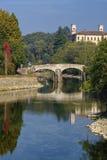 Bridge over Naviglio Grande Milan Royalty Free Stock Images