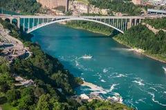 Bridge over Niagara Stock Photography