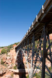 Bridge over Oakcreek in Arizona Royalty Free Stock Photo