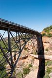 Bridge over Oakcreek in Arizona Stock Photos