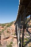 Bridge over Oakcreek in Arizona Stock Photography