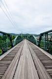 Bridge over Pai River at Pai at Mae Hong Son Thailand Royalty Free Stock Photos