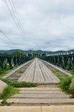 Bridge over Pai River at Pai at Mae Hong Son Thailand Stock Photo
