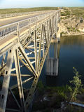 Bridge over Pecos river Royalty Free Stock Images