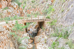 Bridge over the Poort River Royalty Free Stock Photos