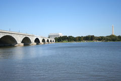 Bridge over Potomac Royalty Free Stock Photos