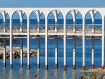 Bridge over quiet water Royalty Free Stock Photos
