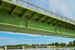 Bridge over the Rhine Stock Photo