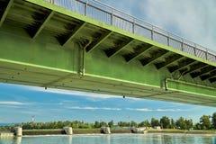 Bridge over the Rhine Stock Photos