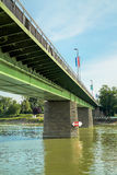 Bridge over the Rhine at Breisach Royalty Free Stock Photos