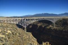 Bridge over the Rio Grande Royalty Free Stock Photography