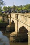 Bridge over river Stock Images
