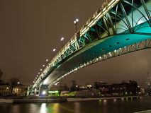 Bridge over the river Stock Photography