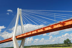 Bridge over river Stock Photography