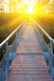 Bridge over a river Royalty Free Stock Photography
