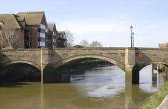 Bridge over River Arun at Arundel. UK Royalty Free Stock Photos