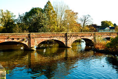 Bridge over the river Avon Royalty Free Stock Images
