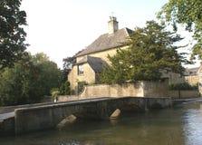 Bridge over River Avon in Malmesbury, Wiltshire, England Royalty Free Stock Photos
