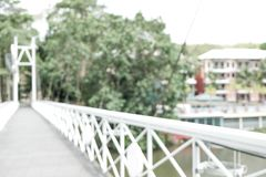 Bridge over the river blur background. Best Stock Images