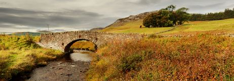 Bridge over a river. In the Cairngorms, Scotland, UK Stock Images