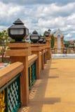 Bridge over river city in Nakhon Si Thammarat. Stock Photo