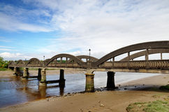 Bridge over the River Dee at Kirkcudbright Royalty Free Stock Photos