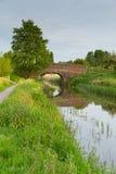 Bridge over river England UK English country scene stock photos