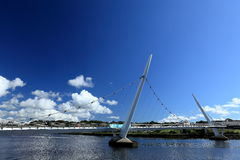 Bridge over the River Foyle from Derry Stock Photography