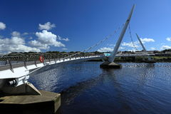 Bridge over the River Foyle from Derry Royalty Free Stock Photography