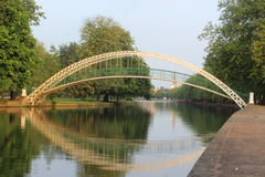 Bridge. Over river Great Ouse Bedford Royalty Free Stock Photos