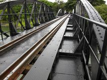 Bridge over River Kwai Royalty Free Stock Photo