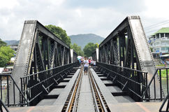Bridge over River Kwai Stock Photography