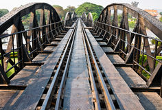 Bridge over the river Kwai Stock Photos