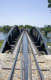 Bridge over the River Kwai Royalty Free Stock Photos